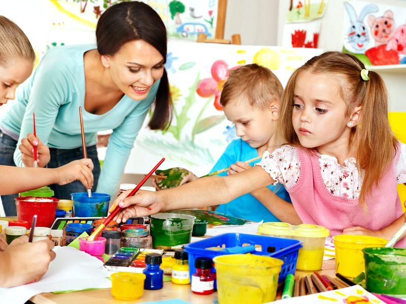 Child Learn In Preschool